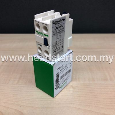 SCHNEIDER AUXILIARY CONTACT LADN02C MALAYSIA