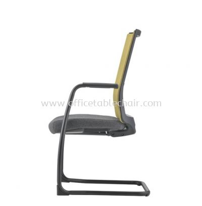 SURFACE VISITOR SOFTEC BACK CHAIR C/W EPOXY BLACK CANTILEVER BASE ASF 8413F