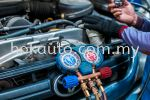 Air Conditioning Service Vehicle Repair - Interior