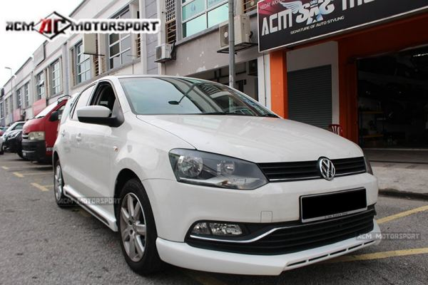 Volkswagen polo hatchback facelift bodykit