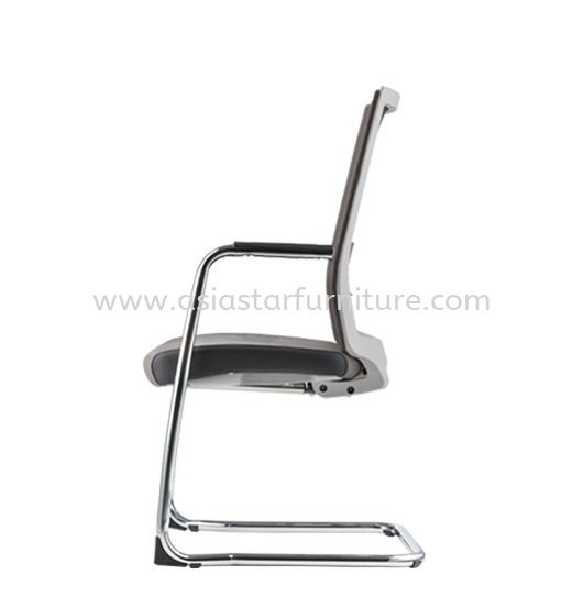SURFACE VISITOR PU BACK CHAIR C/W CHROME CANTILEVER BASE ASF 8413P