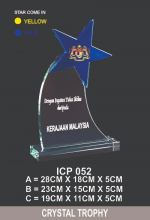 ICP 052 CRYSTAL TROPHY
