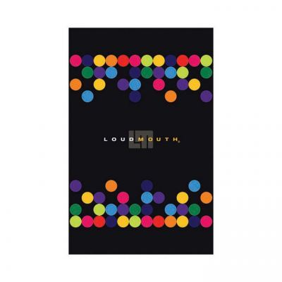 Winning Edge - Golf Towel - LM - Disco Balls Black