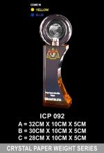 ICP 092 CRYSTAL TROPHY