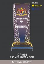 ICP 066 CRYSTAL TROPHY