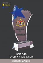 ICP 049 CRYSTAL TROPHY