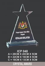 ICP 048 CRYSTAL TROPHY