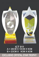 ICT 011 EXCLUSIVE CRYSTAL PLAQUE