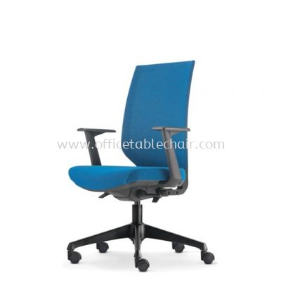 ZENITH MEDIUM BACK SOFTEC CHAIR C/W ROCKET NYLON BASE AZN 8211F