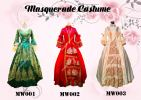 Masqurade MW001-003 MASQUERADE (FEMALE) ANCIENT EUROPE  Costume Rental (Kota Damansara)