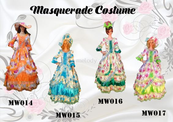 Masquerade MW014-017