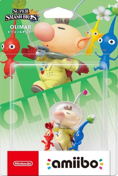 Amiibo Super Smash Bros (Pikmin & Olimar)