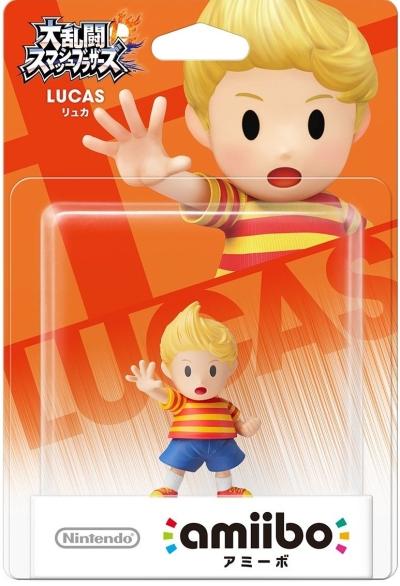 Amiibo Super Smash Bros (Lucas)