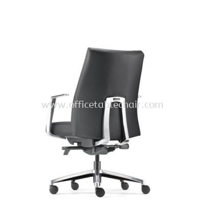 PREMIUM DIRECTOR LOW BACK WITH ALUMINIUM BASE AND POLISHED ARMREST APM 6312L