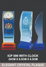 ICP 099 EXCLUSIVE CRYSTAL TROPHY_CLOCK
