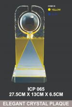 ICP 065 EXCLUSIVE CRYSTAL TROPHY