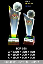 ICP 028 EXCLUSIVE CRYSTAL TROPHY