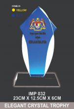 IMP  032 EXCLUSIVE CRYSTAL TROPHY