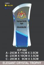 ICP  042 EXCLUSIVE CRYSTAL TROPHY