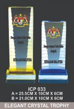 ICP  033 EXCLUSIVE CRYSTAL TROPHY