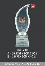 ICP 290 EXCLUSIVE CRYSTAL TROPHY