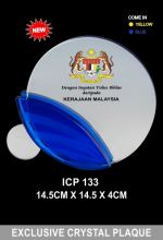 ICP 133 EXCLUSIVE CRYSTAL PLAQUE