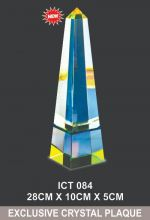 ICT 084 EXCLUSIVE CRYSTAL TROPHY