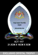 ICT 117 EXCLUSIVE CRYSTAL PLAQUE