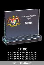 ICP 090 EXCLUSIVE CRYSTAL PLAQUE