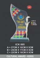 ICK 005 CRYSTAL PLAQUE_KERIS