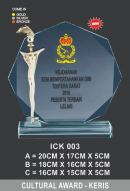 ICK 003 CRYSTAL PLAQUE_KERIS