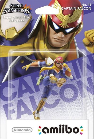 Amiibo Super Smash Bros (Captain Falcon)