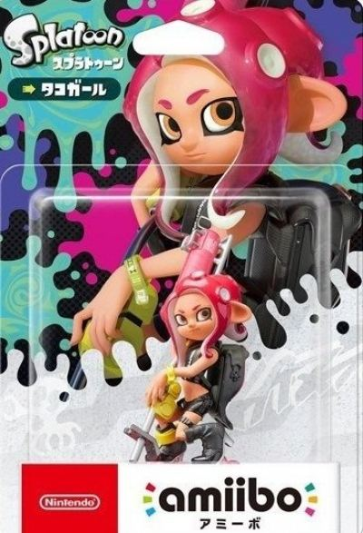 Amiibo Splatoon 2 (Octolings Girl)