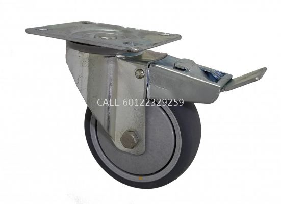 GREY CONDUCTIVE RUBBER BRAKE