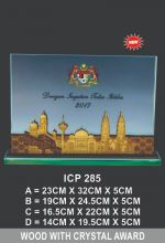 ICP 285 EXCLUSIVE CRYSTAL PLAQUE