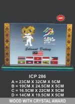 ICP 286 EXCLUSIVE CRYSTAL PLAQUE