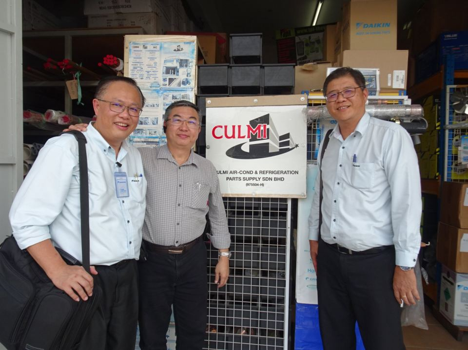 DAIKIN MALAYSIA SDN. BHD. Business Improvement Develop Team Visit On 23-8-2019