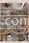 Cornice Package + Wiring + Lighting ~ No XX Jalan Ekoflora 5/24 , Taman Ekoflora