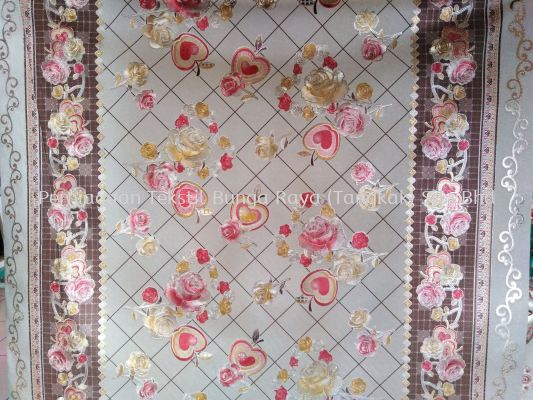 TABLE CLOTH 55'' (AM 29 GOLD COLOUR SERIES)