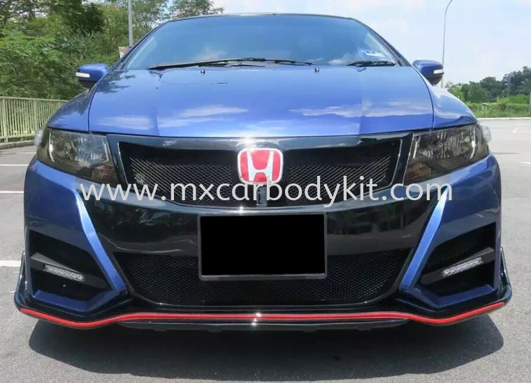 HONDA CITY 2009 TYPE R DESIGN BODYKIT + SPOILER CITY 2009 HONDA