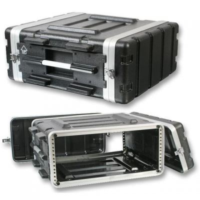 ABS Flight Case - 4U (17 inch depth)