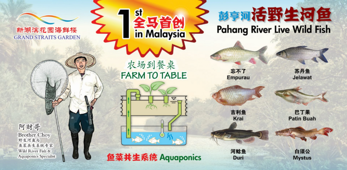 1st in Malaysia ・ Farm to Table