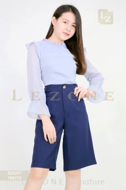 768773 POCKET DETAIL CULOTTES【ONLINE EXCLUSIVE 35%】