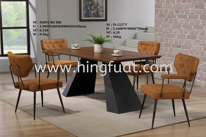 56092-1227T Wooden Dining Set Johor Bahru JB Kulai ...