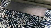Marble Coffee Table - Black Marquina Marble Marble Coffee Table Clearance Item