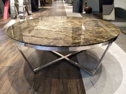 Marble Coffee Table - Dark Emperador