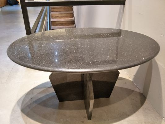 Granite Coffee Table - Black Gallaxy Granite