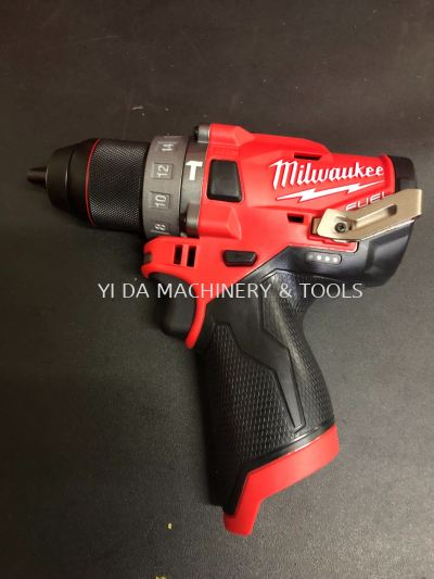 Milwaukee m12 Fuel COMPACT 2-SPEED PERCUSSION DRILL - CPD-0 SOLO Unit