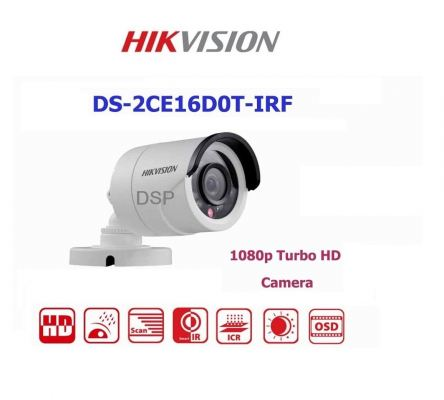 DS-2CE16D0T-IRF HD1080p 4 in 1 Entry Level Series