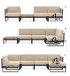 ATTESA MODULAR SOFA MODULAR SOFA Outdoor Furniture Home Furniture